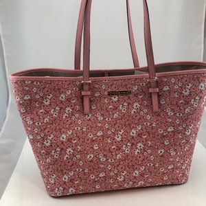 Michael Kors Jet Set Floral Travel Tote Bag